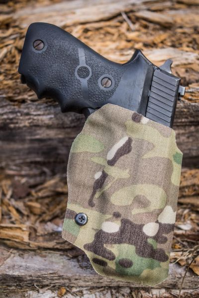Outside the Waistband (OWB) Fold-Over Kydex Holster