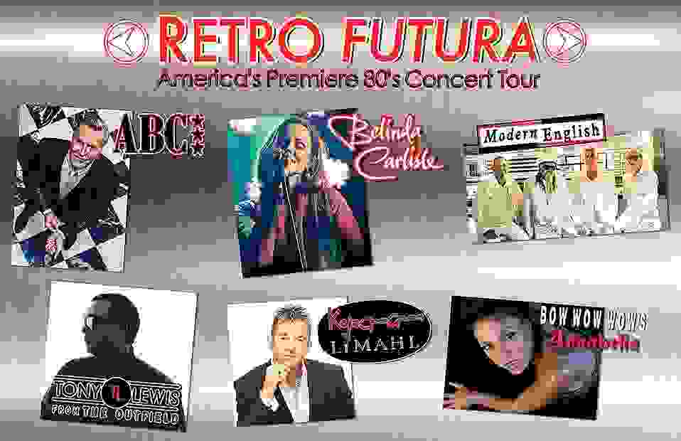 Retro Futura tour Modern English