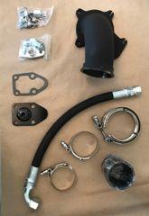 6.5 Turbo Diesel HX40 Holset Downpipe Kit, Improved!!!