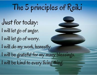 5 principles of reiki