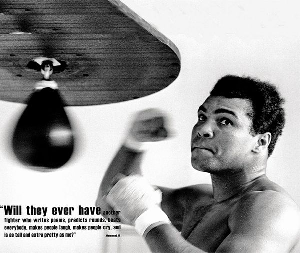 Muhammad Ali bunch bag