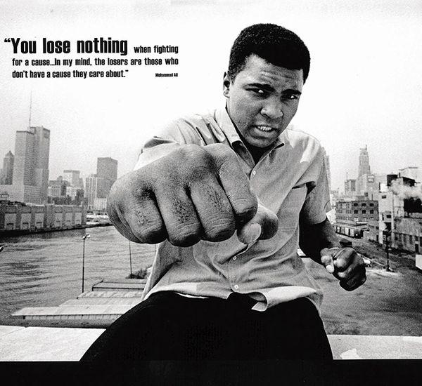 Muhammad Ali In NY