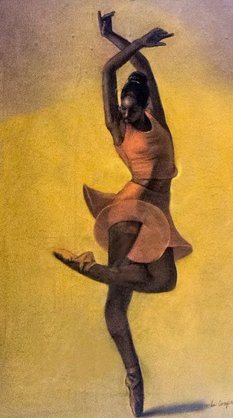 Ballet Dance Pose Original