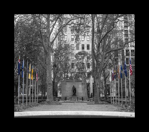 Philadelphia's Washington Square Park ( BW)
