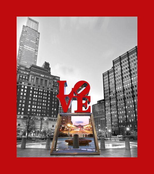 Philadelphia Love Park (vertical)