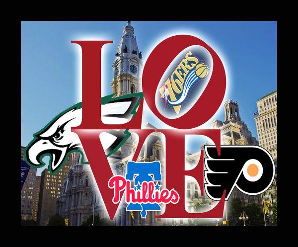 Philadelphia Sports Love teams 2