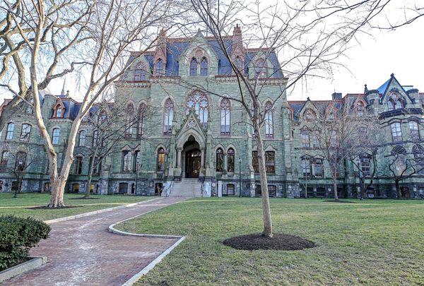 College Hall At University of Pennsylvania, Philadelphia College,U Penn