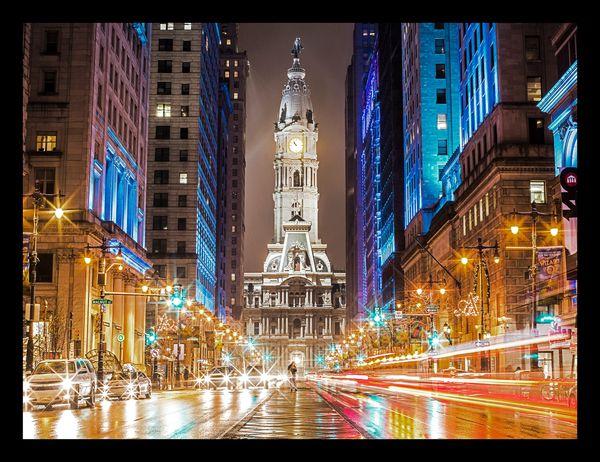 Philadelphia City Hall Reflection