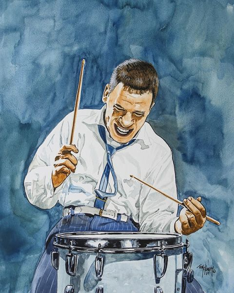 Buddy Rich by Tom Mckinney
