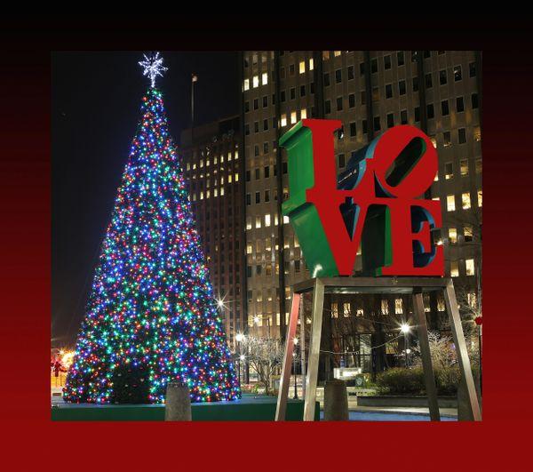 Christmas at LOVE Park 1