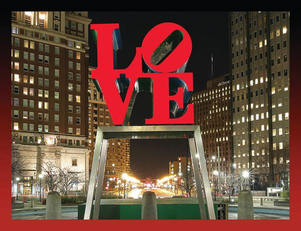 LOVE Park w/red