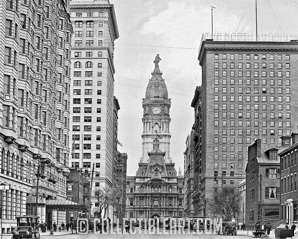 Broad and Locust, Philadelphia PA, USA, Circa 1905
