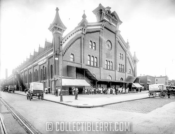Convention Hall Market, Circa 1903