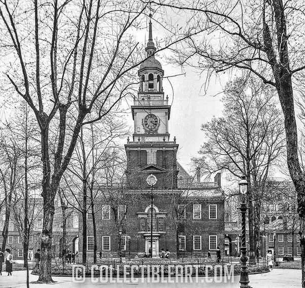 Independence Hall, Philadelphia PA, USA, Circa 1905