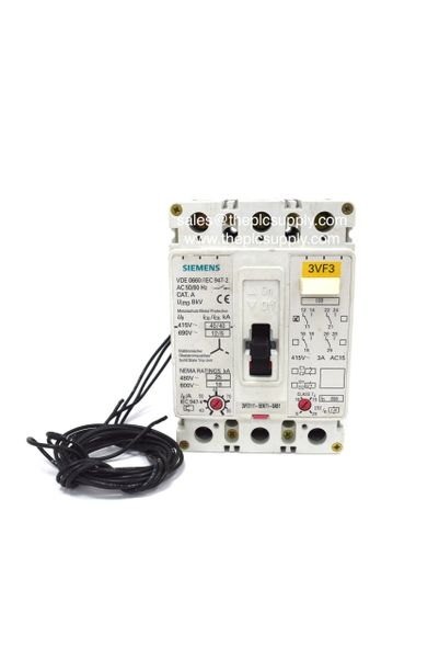 Siemens 3VF3 80Amp Triple Pole MCCB 3VF3111-5EN71-0AB1 Circuit Breaker  Adjustable 40Amp-80Amp (40Amp/50Amp/60Amp/70Amp/80Amp)