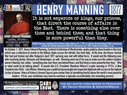 Vatican Cardinal Henry Manning Quote: There is something else over them and behind them and ...