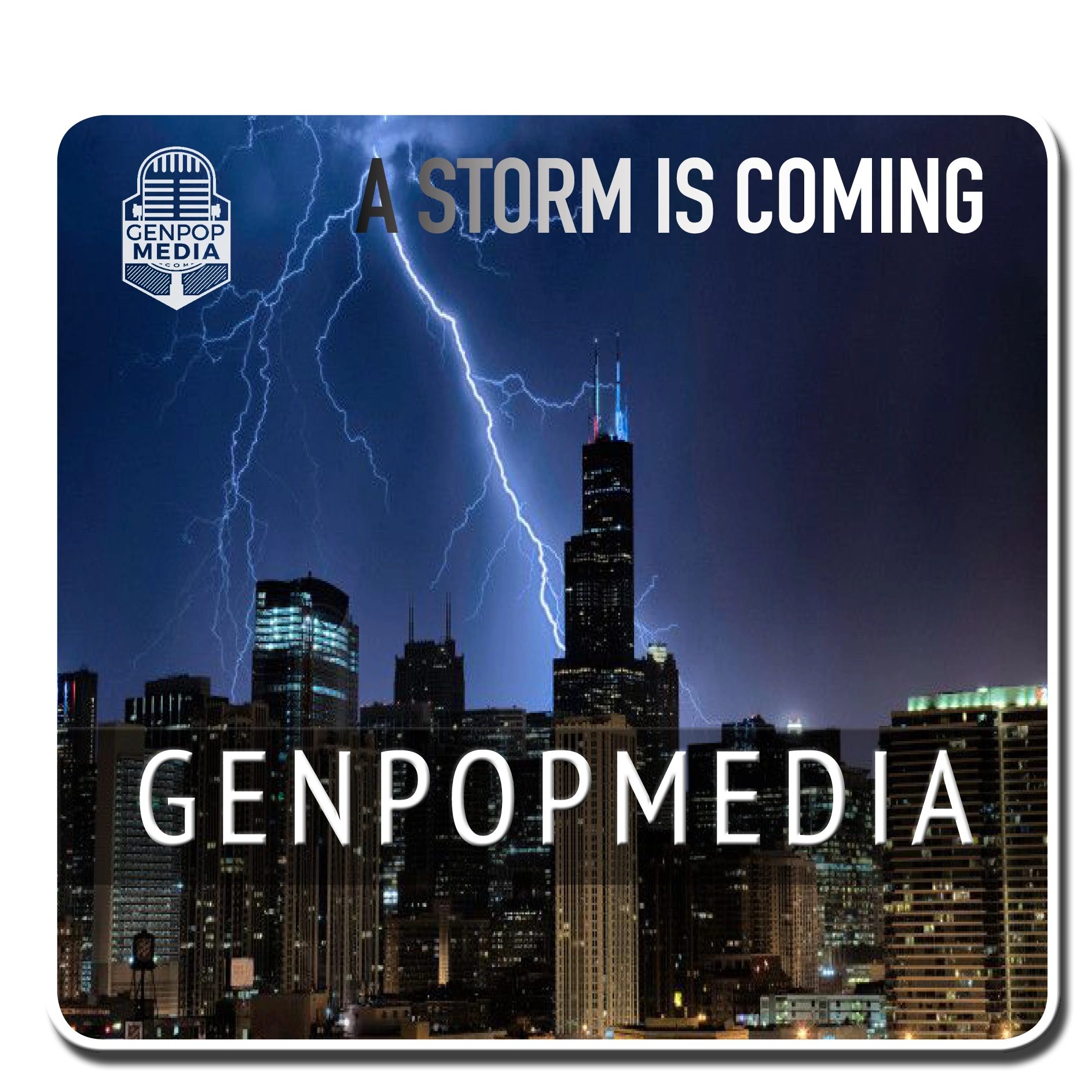 A Storm is coming at GenpopMedia Detroit & Chicago.  Bible Meets Conspiracy.  401 Quote Cards.