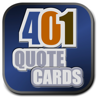 About David Hooper: The 401 Quote Card Series Creator.  Produced by GenpopMedia.