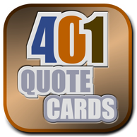 401 Quote Card Button: About the 401 Quotes (Finding God by Finding the Devil in the Details).