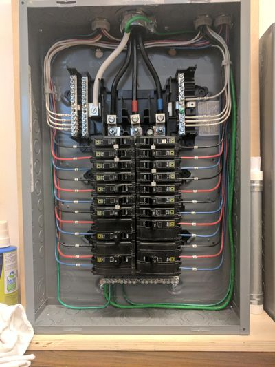 New 200 AMP Panel Install Commercial Electrical
