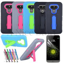LG G5 Dual Layer Protective Case with Kickstand