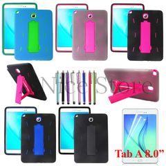 """Samsung Galaxy Tab A 9.7"""" Hybrid Protective Case with Built in Kickstand"""