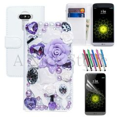 LG G5 Fairytale 3D PU Leather Wallet Phone Case Cover