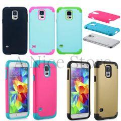 Samsung Galaxy S5 Protective Dual Layered Retro Case