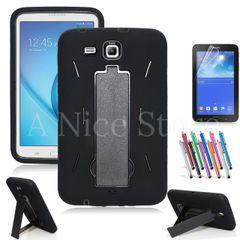 Heavy Duty Rugged Impact Hybrid Case for Galaxy Tab 3 Lite 7.0