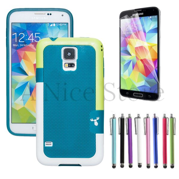 Galaxy S5 Protective Ultra Slim Colorful PC Bumper Case Cover