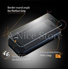 iPhone 5/5S/5C Ultra-Thin Quality Premium Tempered Glass Screen Protector Film