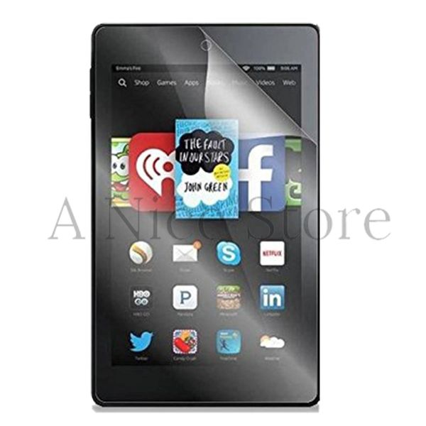 2014 Amazon Kindle Fire HD 6 HD Clear LCD Screen Protector Film Saver