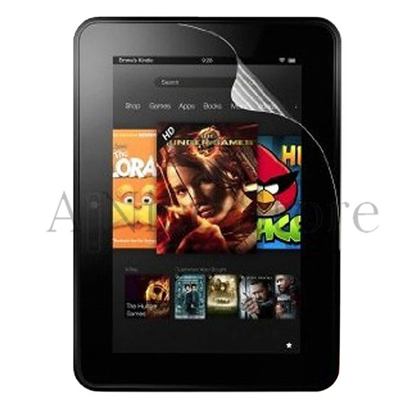 2012 Kindle Fire HD 7 ULTRA Clear LCD Screen Protector Film