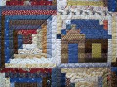 Log Cabin Precision Piecing with Judy Martin