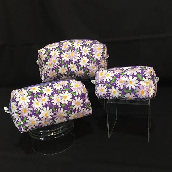 Cosmetic bag set of 3 (00005)