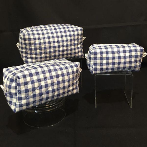 Cosmetic bag set of 3 (00006)