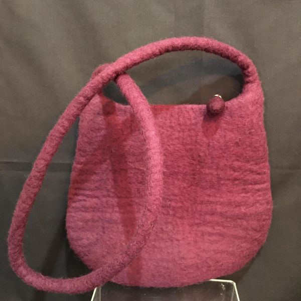 Boiled Wool Bag (00035)