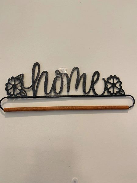 """Sampler Hanger-HOME 12"""" dowel (additional standard shipping will be applied)"""