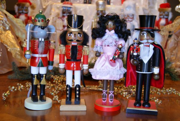 "Nutcracker Ballet Set of Four 10"" Nutcrackers"