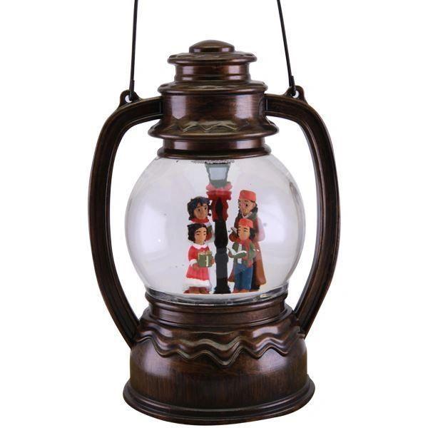 Family Caroling Globe Lantern