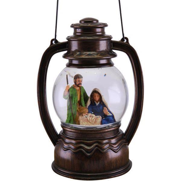 Nativity Globe Lantern