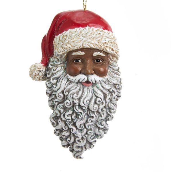 Santa Head Ornament - SOLD OUT
