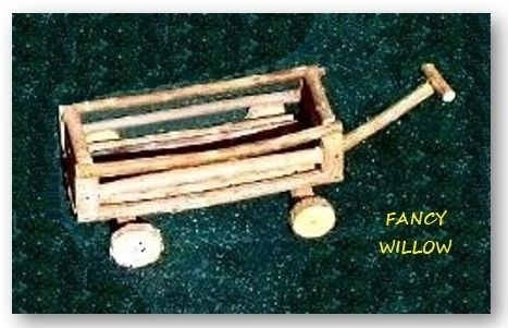 Eloise's Resort Children Furniture: James' Stuff, Log Toy Wagon - Handcrafted Pool and Patio Furniture
