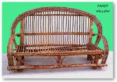 "Auberge Country Home Décor: Frontier Rio Grande Cabin Bench, 76"" Long - Handcrafted Pool and Patio Furniture"
