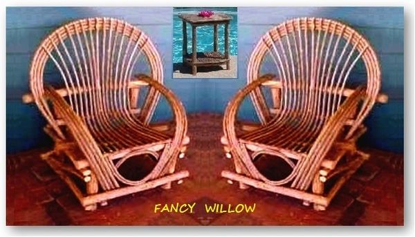 Pebble Beach Home Décor: Chaparral Lodge Set, 3 Pieces - Handcrafted Pool and Patio Furniture