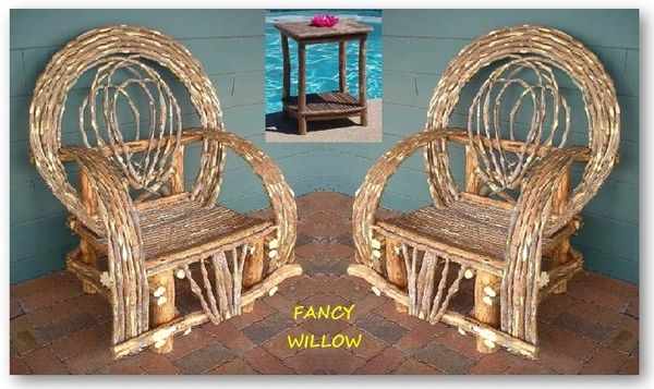 Pebble Beach Home Décor: BellaFlor Cottage Set, 3 Pieces - Handcrafted Pool and Patio Furniture
