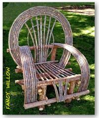 Jackson Hole Country Home Décor: Sedona Back Forty Chair - Handcrafted Pool and Patio Furniture