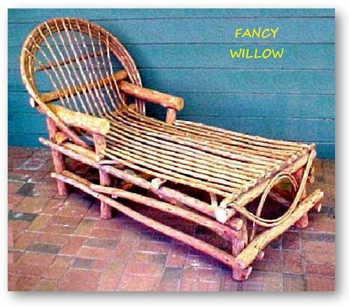 Sun Valley Country Home Décor: Tahoma Resort Chaise Lounge - Handcrafted Pool and Patio Furniture