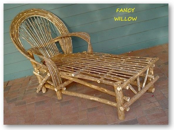 Sun Valley Country Home Décor: Tubac Lodge Chaise Lounge - Handcrafted Pool and Patio Furniture