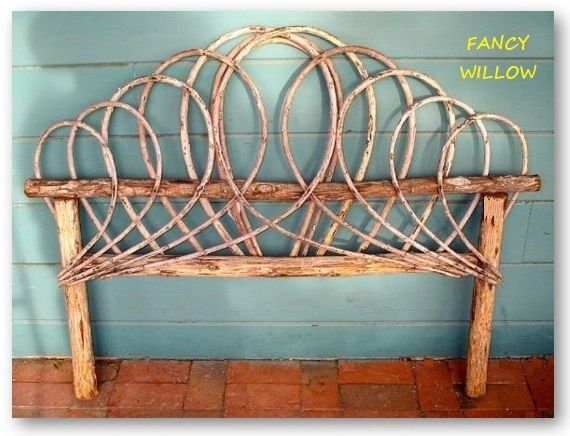 Dos Brisas Country Home Décor: BellaFlor Cottage Headboard - Handcrafted Pool and Patio Furniture